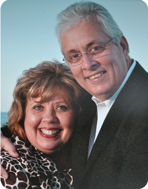 Pastor Jimmy Kiker and his wife, Ginger